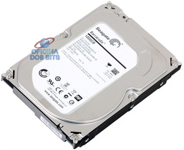 HD 1 TB SATA 3 - 6Gb/s - 7200RPM - 64MB Cache - Seagate Barracuda ST1000DM003
