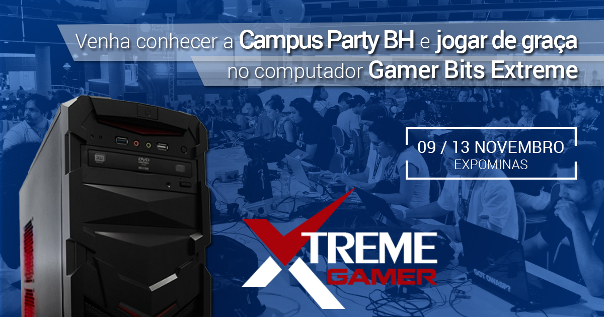 Oficina dos Bits na Campus Party