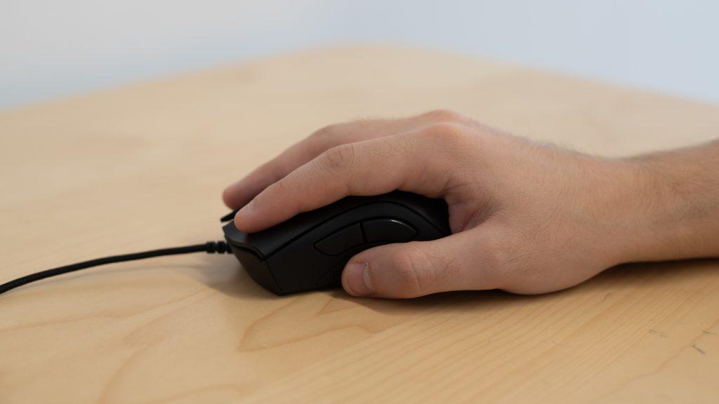 tipo de pegada de mouse palm