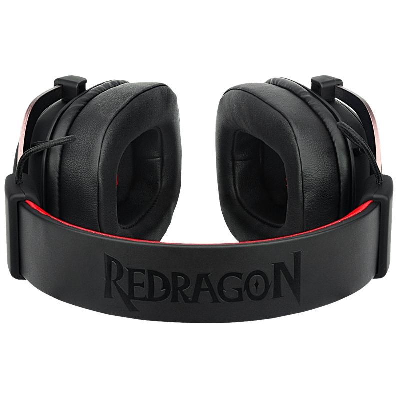 Headset Gamer Redragon Zeus 2 H510-1 - Com Microfone para jogos