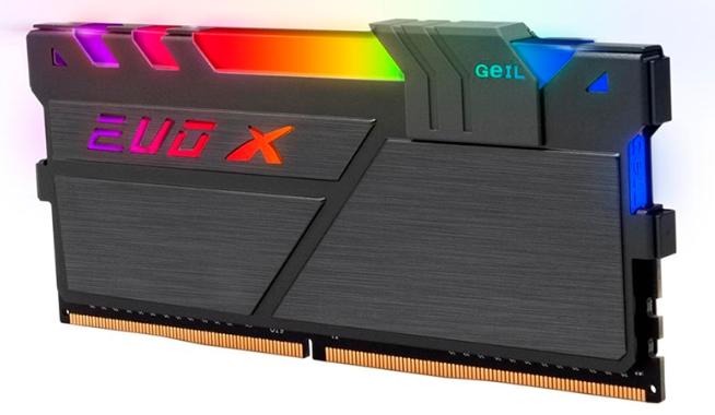 Memória 8GB DDR4 3000MHZ Geil EVO X II - 1.35V - CL16 - RGB