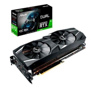 GeForce RTX 2080 8GB GDDR6 256bits - Dual - OC Edition - Asus DUAL-RTX2080-O8G Marca: Asus