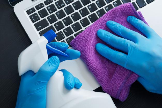 Cuidados básicos com a limpeza do notebook